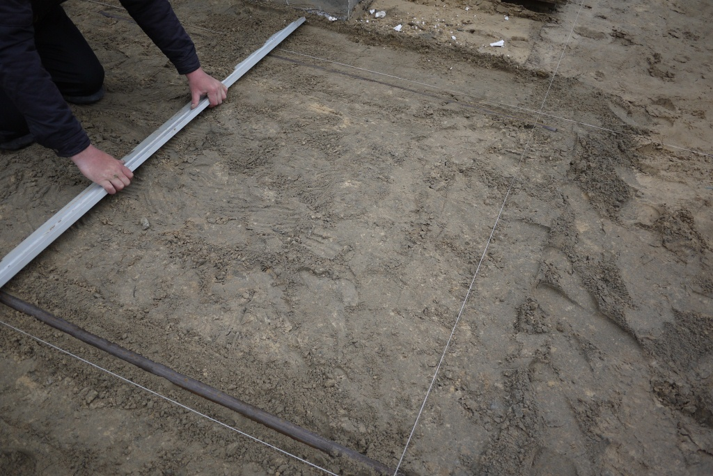 Подготовка укладка тротуарной плитки своими руками видео