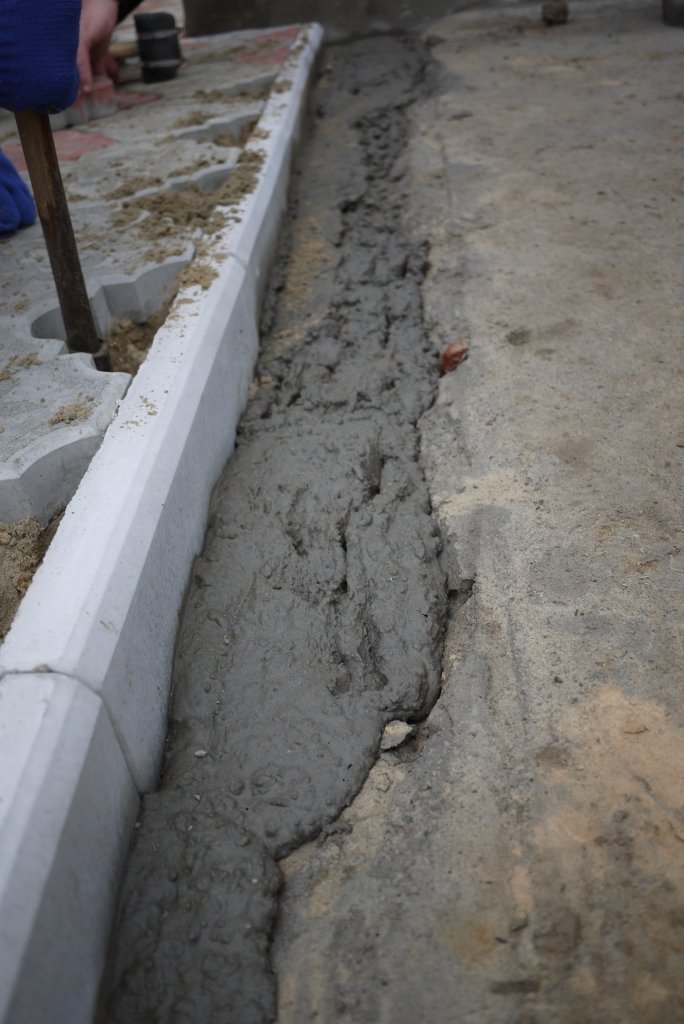 Технология тротуарной плитки своими руками