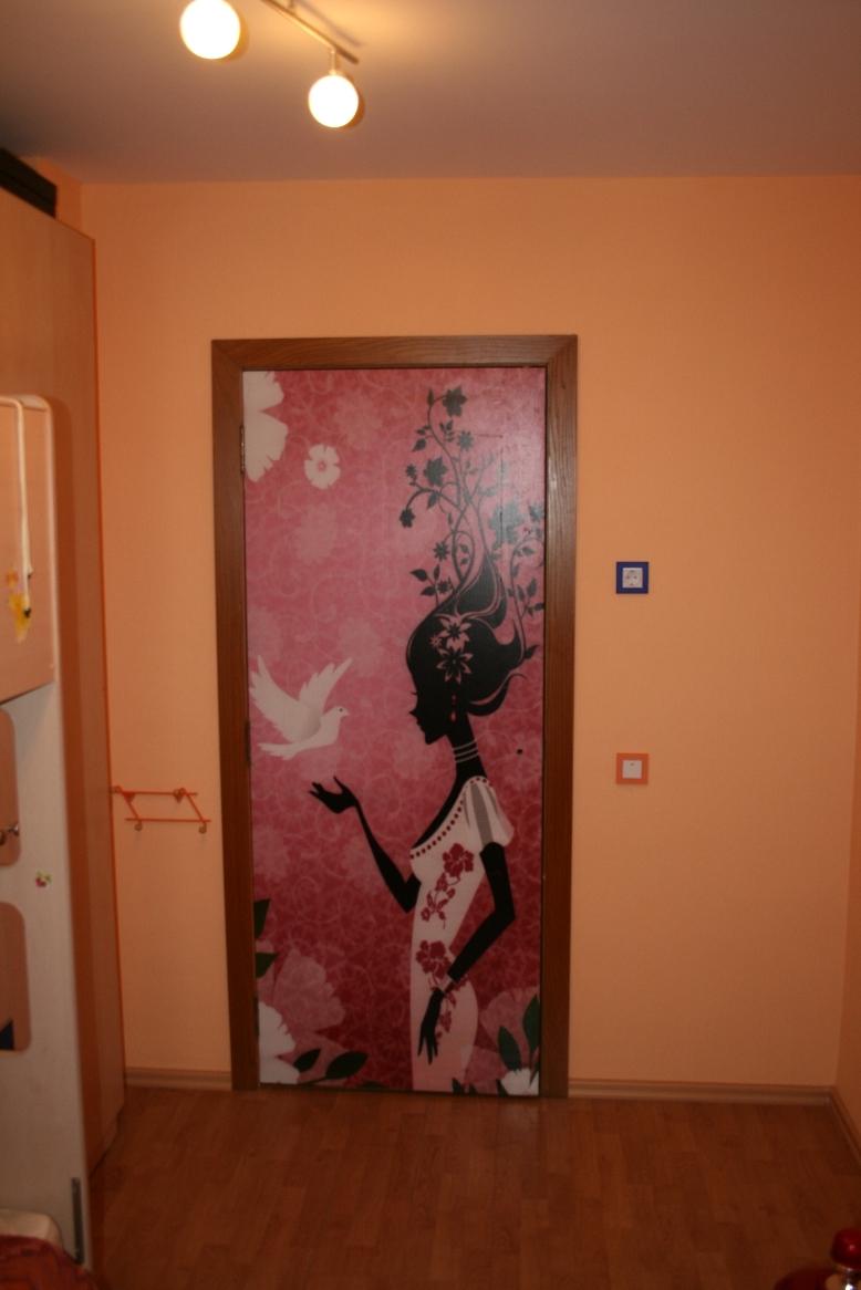 Как вставить дверь межкомнатную своими руками фото