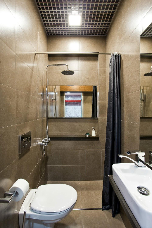 Ванная в однокомнатной дизайн