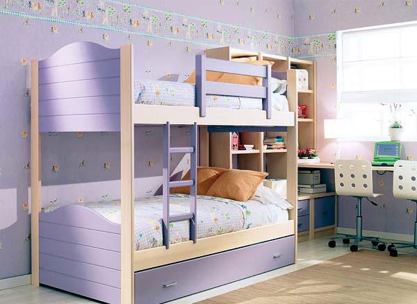 Спальня для двоих разнополых детей дизайн