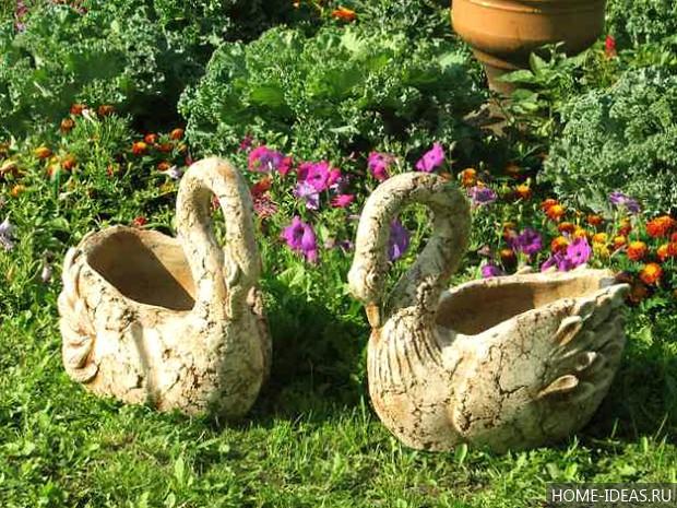 Идеи для сада своими руками фото с описанием