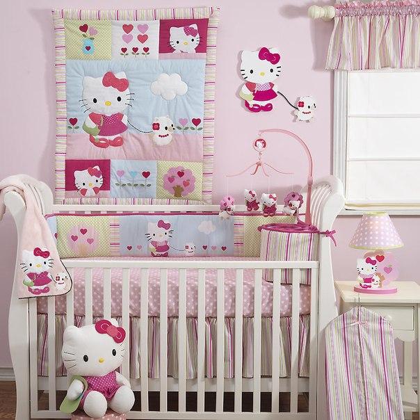 Как украсить детскую комнату для новорожденного своими руками