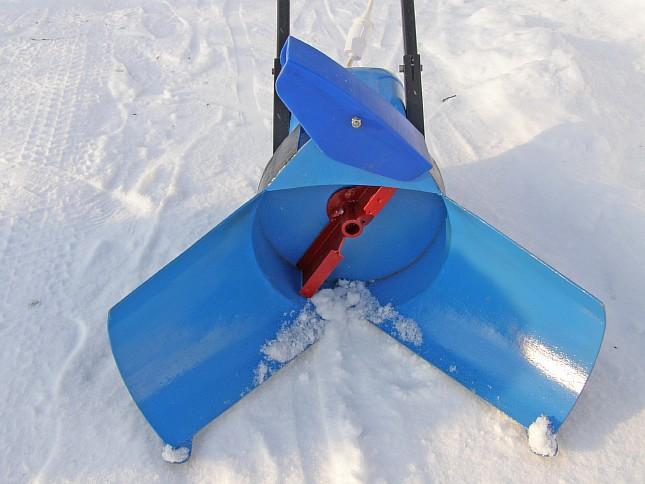 Снегомет своими руками к мотоблоку
