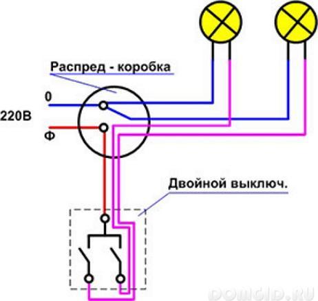 правильная схема подключения узо в однофазной сети