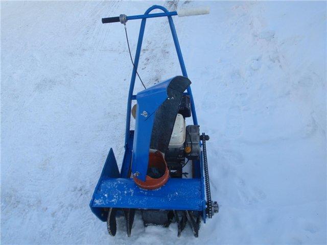 Снегоуборщик электрический своими руками фото