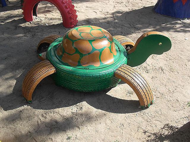 Черепахи для сада своими руками
