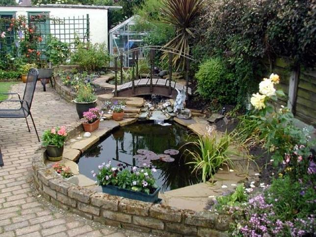 Фото интерьера сада своими руками