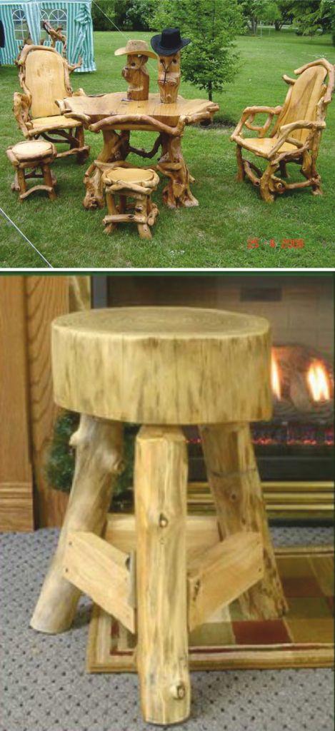 делать мебель из дерева своими руками