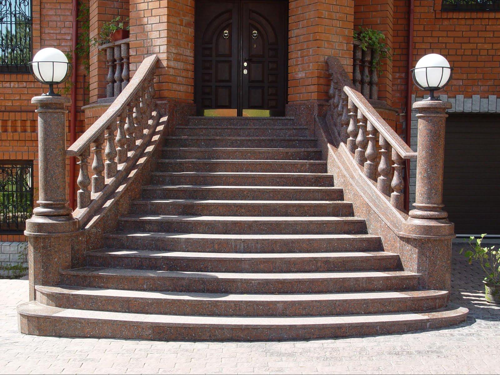 Фото входных лестниц в доме