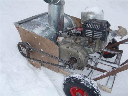 Электрические снегоотбрасыватели своими руками